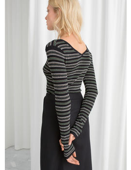 Striped Long Sleeve Top by & Other Stories