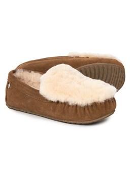 Emu Australia Cairns Reverse Fur Slippers   Leather (For Women) by Emu Australia