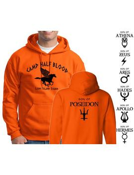 Camp Half Blood Hoodie Percy Jackson Halloween Costume 2 Sided Print Sweatshirt Adult Youth Sizes S 3 Xl by Etsy
