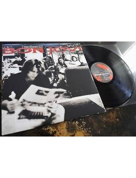 Bon Jovi ‎  Cross Road **Original First Press Poly Gram Mercury 2 Lp** by Ebay Seller