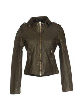Muubaa Leather Jacket   Coats & Jackets by Muubaa