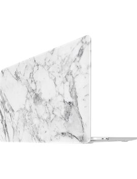 "Neon Party Case For 13"" Apple® Mac Book® Pro   White Marble by I Benzer"