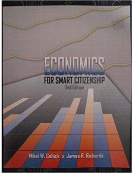 Economics For Smart Citizenship by Mikel W.Cohick & James R.Richards
