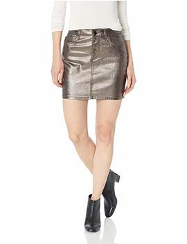 Guess Women's Hi Gloss Metallic Bodycon Skirt by Guess