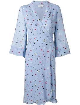 Dainty Georgette Wrap Dress by Ganni