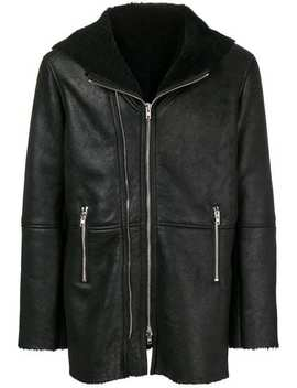 Shearling Lined Hooded Coat by S.W.O.R.D 6.6.44