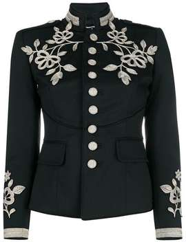 Embroidered Military Jacket by Dsquared2