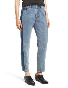 Pepper High Waist Jeans (Dual Blue) by Dr. Denim Supply Co