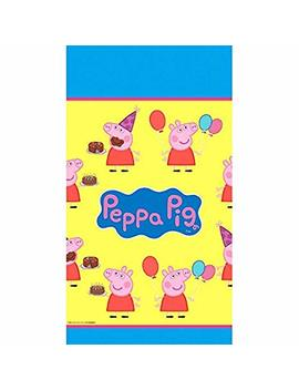 Peppa Pig Plastic Table Cover by American Greetings