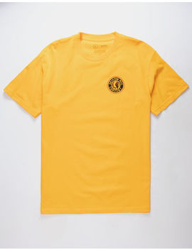 Brixton Rival Ii Gold Mens T Shirt by Brixton