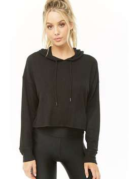 Active Cropped Hoodie by Forever 21