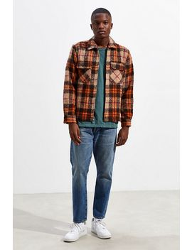 Uo Ryder Flannel Zip Shirt by Urban Outfitters