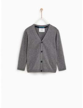 Basic Knit Cardigan  New Inboy by Zara