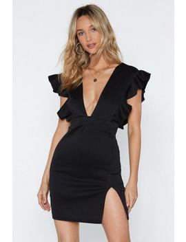 Take The Plunge V Neck Dress by Nasty Gal