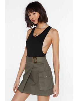 Side To Side Scoop Bodysuit by Nasty Gal