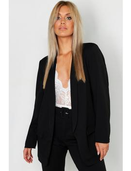 Plus Tailored Blazer by Boohoo