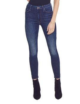 The Looker High Waist Ankle Jeans by Mother