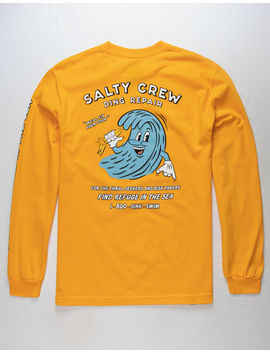 Salty Crew Ding Repair Gold Mens T Shirt by Salty Crew