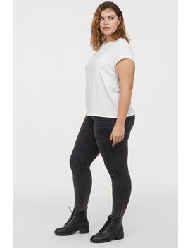H&M+ Leggings Moteros De Punto by H&M