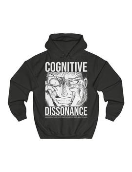 Cognitive Dissonance Vegan Black Hoodie Vegan Sweatshirt Vegan Clothing Vegan Hoodie Sweatshirt Women by Etsy