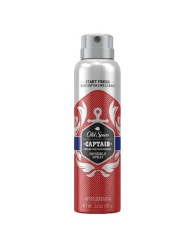 Old Spice Red Collection Captain Invisible Spray Antiperspirant And Deodorant   3.8oz by Old Spice