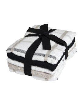 Wilko Terry Tea Towel Grey And White 5pk          45 X 60cm Wilko Terry Tea Towel Grey And White 5pk          45 X 60cm by Wilko