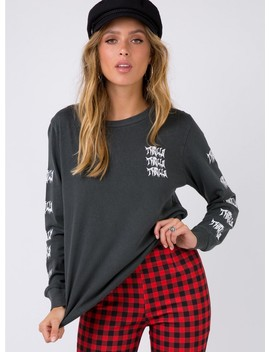 Thrills Excel Long Sleeve Tee Merch Black by Thrills