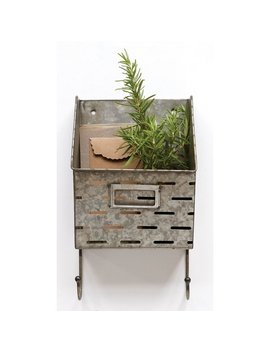 "Gracie Oaks Wabansia 7.45"" X 13.25"" X 5.5"" Metal Olive Shelf & Reviews by Gracie Oaks"