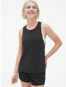Gap Fit Breathe Strappy Detail Tank Top by Gap