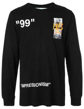 Summer Long Sleeved T Shirt by Off White