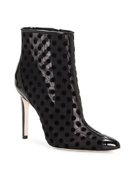 Prestin Mesh Dot Booties by Jessica Simpson