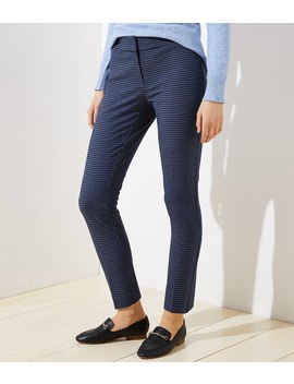 Skinny Ankle Pants In Check In Julie Fit by Loft