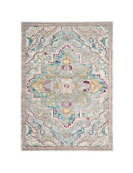 Kayla Turquoise &Amp; Gray Rug by Pier1 Imports