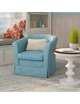 Laurel Foundry Modern Farmhouse Sevan Swivel Barrel Chair & Reviews by Laurel Foundry Modern Farmhouse