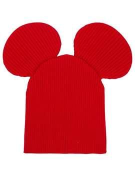 Mouse Ears Beanie Hat by Comme Des Garçons Shirt Boys