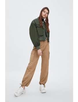 Wide Leg Cargo Pants  New Intrf New Collection by Zara