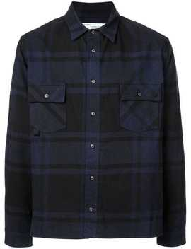 Checked Arrow Print Shirt by Off White