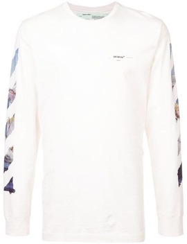 Diag Multicoloured Arrows L/S T Shirt by Off White