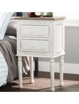 Laurel Foundry Modern Farmhouse Kolya 2 Drawer Nightstand & Reviews by Laurel Foundry Modern Farmhouse