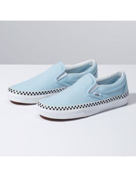 Check Foxing Slip On by Vans