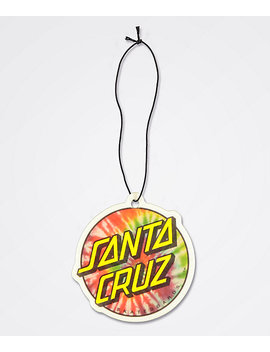 Santa Cruz Tie Dye Dot Air Freshener by Santa Cruz Skate