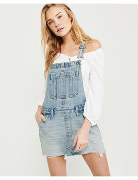 Denim Overall Dress by Abercrombie & Fitch