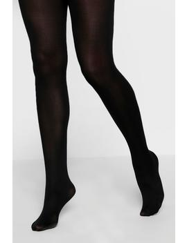 80 Denier 2 Pack Microfibre Tights by Boohoo