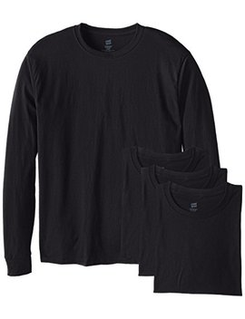Hanes Men's Long Sleeve Comfort Soft T Shirt (Pack Of 4) by Hanes