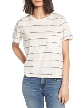 Stripe Pocket Tee by All In Favor