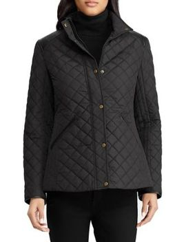Quilted Snap Front Jacket by Lauren Ralph Lauren