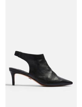Jade Pointed Mid Shoes by Topshop