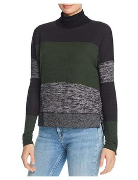 Bowery Striped Turtleneck Sweater by Rag & Bone/Jean