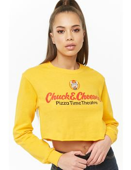 Chuck E Cheese Crop Top by Forever 21