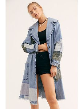 Patchwork Denim Duster by Free People